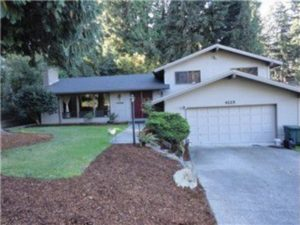 This Bellevue,. WA tri-level home is rented by Full Service Property Management