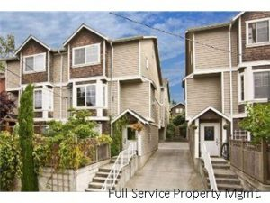 This First Hill townhome is managed by Full Service Property Management