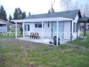 Small house part of Mountlake Terrace property management